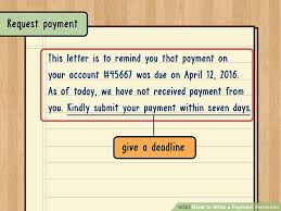 How To Write A Payment Reminder 13 Steps With Pictures