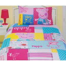 Peppa Pig: Patch Quilt Duvet Cover Bedding Set - Funstra & Peppa Pig Patch Quilt Cover Set Adamdwight.com