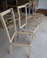 simple wood dining room chairs. diy dining chairs simple wood room