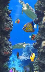 moving fish wallpaper for phones. Delighful Moving Aquarium And Fishes 171 Screenshot 9 On Moving Fish Wallpaper For Phones A