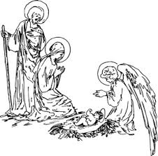 9061 free clip art nativity scene silhouette   Public domain vectors