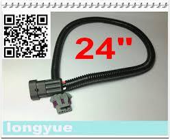 10pcs ls1 ls6 to ls2 l76 map sensor extension adapter wiring harness 10pcs ls1 ls6 to ls2 l76 map sensor extension adapter wiring harness 24
