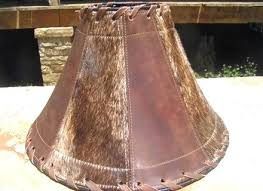 cowhide lamp shades whole rustic lamp shades cowhide western shade leather a cowhide chandelier lamp shades whole cowhide lamp shades