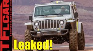 2018 jeep motor. interesting 2018 2018 jeep wrangler jl engine choices packages and options leaked video intended jeep motor