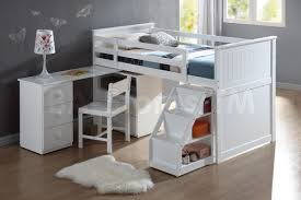 bedroom wonderful wyatt white loft bed unit with desk and chair bunk beds af 19405 412 photo of fresh at ideas design bunk bed with desk underneath and