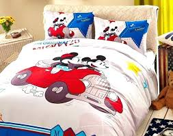 mickey and minnie bedding set bed set white color mickey teens bedroom bedding set 3 white