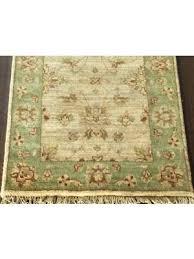 4 x 12 runner rug beige green wool rug 4 x 12 runner rug