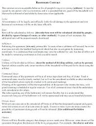 House Rules For Roommates Template Housemate Agreement Template Rental House Rules For Tenants