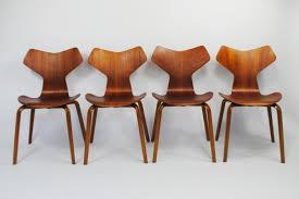 arne jacobsen furniture. Set Of 4 Grand Prix Dinner Chairs By Arne Jacobsen For Fritz Hansen, 1950s Furniture