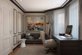 interior design for home office. Modern Classic Interior Design Home Office Designs On Behance For F