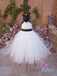 flower girl dresses made with tulle 89