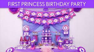 Princess Balloon Decoration 1st Birthday Princess Balloon Decoration Ideas Youtube