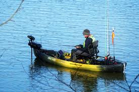 with the exception of those rare glass calm days paddling and peddling can make fishing a challenge and wind and cur can cause you to drift into or