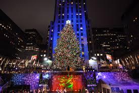 A previous Rockefeller Center Christmas tree.
