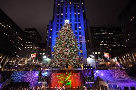 a previous rockefeller center tree