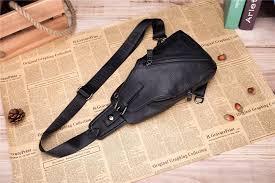 Retro <b>2017</b> New Chest Bag Pack For <b>Men</b> Female <b>Genuine Leather</b> ...
