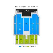 Mid Hudson Civic Center 2019 Seating Chart