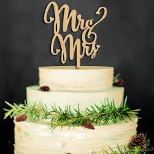 2019 Wedding Decoration Wood Cake Toppers For Wed Cake Decoration