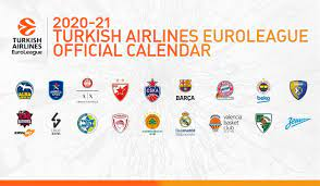 The 2020-21 Turkish Airlines EuroLeague calendar is here! - News - Welcome  to EUROLEAGUE BASKETBALL