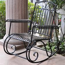 black iron outdoor furniture. delighful iron international caravan tropico iron porch rocker outdoor rocking  chairsoutdoor  on black furniture a