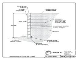 building a cinder block retaining wall building a cinder block retaining wall concrete block construction details