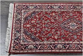 kashan medallion persian fine hand knotted wool rug 19085