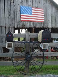 Wooden Mailboxes Amish Handcrafted Mail Boxes  Mailbox Country Style Mailboxes