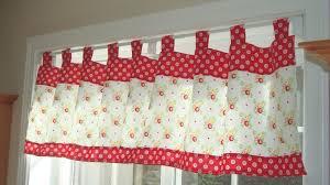 Red Retro Kitchen Red Kitchen Curtains Retro