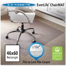 hard floor chair mat rectangular 46 x 60. es robbins 46x60 rectangle chair mat, economy series for hard floors - walmart.com floor mat rectangular 46 x 60 r