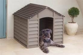 dog kennel plastic durable outdoor dog home shelter kennel mocha green beige mocha