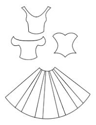 dress card template blank 200x259px book print dress card template on how to do templates