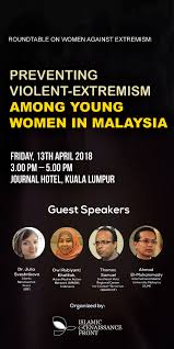 roundtable discussion on women against extremism preventing violent extremism among young women in malaysia