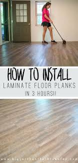 how to install laminate flooring it s easy and so durable you snap in over carpet