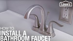Replace A Bathroom Faucet
