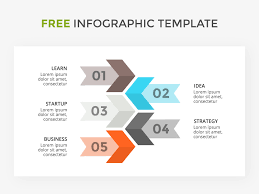 Startup Steps Infographic Template Free Psd Template Psd