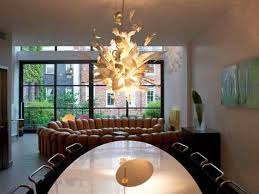 unique contemporary lighting. Unique Contemporary Chandelier For Impressive Dining Room Remodeling Ideas With Oval Table Lighting