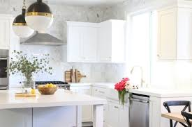 Low Maintenance White Countertops — Blue Door Living