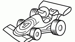 Dreaded Race Car Coloring Pages Profitable Page Of Racecar At Pdf