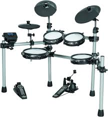 simmons sd550. following up on the success of its breakthrough sd2000 mesh-head electronic drum kit, simmons has introduced sd550 full-sized, five-piece, sd550 i