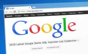 google dorks sql injection list sql