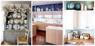amazing decorating ideas for above kitchen cabinets 18