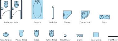 floor plan symbols bathroom. Beautiful Plan Restroom Floor Plan Symbols And Floor Plan Symbols Bathroom