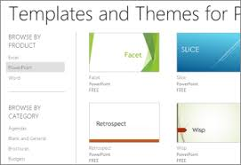Powerpoint Templates Online Free Using Templates In Powerpoint Online Powerpoint