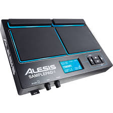 Alesis SamplePad 4, Four-Pad Percussion and SAMPLEPAD 4 B&H
