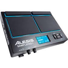 Alesis SamplePad 4, Four-Pad Percussion and SAMPLEPAD 4 B&H