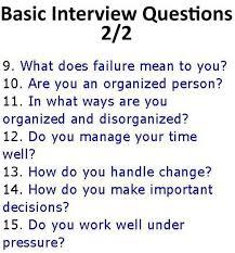 best ideas about interview questions job job interview basic interview questions
