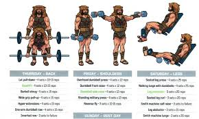 bodybuilding hercules workout the rock
