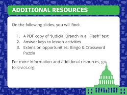 A method of putting a case before the supreme court; Nearpod