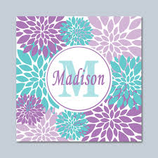 zoom on lavender colored wall art with purple teal wall art lavender teal floral wall art lavender