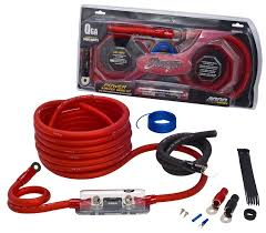 gauge amplifier wiring kit annavernon 4000 series 1 0 gauge power wiring kit stinger